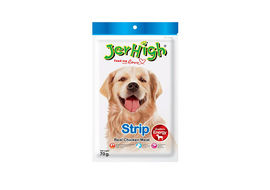 JerHigh Strip Dog Treat Snack, pack of 1