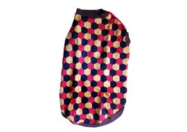 Rays Woollen Sweater for Large Dogs, 26 inch, red yellow soccer