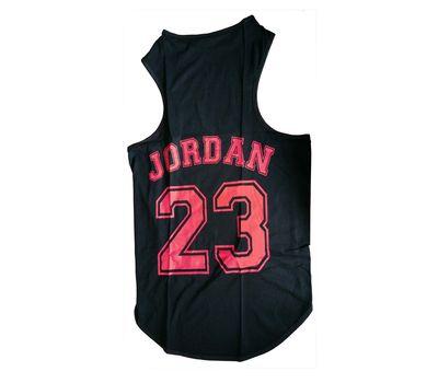 Canes Venatici Sporty Sando Sleeveless Tshirt for Dogs, 20 inch, black jordan