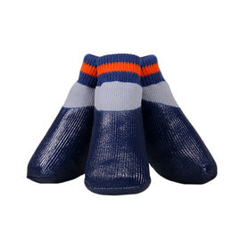 Puppy Love Neon Anti-Slip Waterproof Sock Shoes for Small Breed Dogs, small, neon indigo