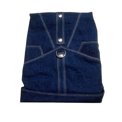 Zorba Designer Denim Jacket for Large Dogs, blue, 26 inch