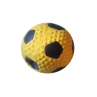 Nunbell Squeaky Latex Ball for Dogs and Cats, soccer