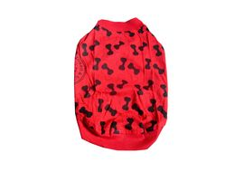 Zorro & Sizi Comfort Tshirt for Toy Breed Dogs & Cats, red, 12 inch