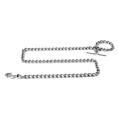 Kennel Stainless Steel Tying Chain for Dogs, medium, 60 inch