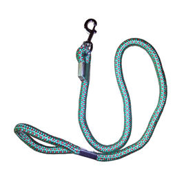 Canine Extra Thick Braided Reflective Rope Lead, green, xl