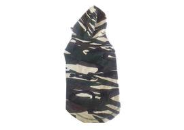 Zorba Designer Camouflage Hoodie Tshirt for Medium Dogs, 24 inch