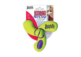 Kong Air Dog Fan Shaped Dog Toy, 5 inch