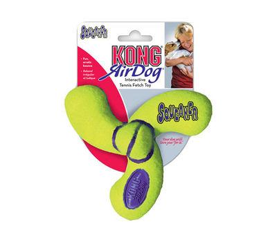 Kong Air Dog Fan Shaped Dog Toy, 5 inch