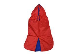 Canes Venatici Double Protection Premium Raincoat for Medium Dogs, red, 24 inch