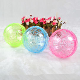 Canine 4 x 1 Plastic Balls with Bell Puppy & Cat Toy, 2 inch, multi colour