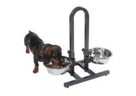 High Quality German Steel Bowl with Adjustable Metal Stand, small bowl