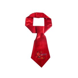 Zorba Designer Official Tie for Dogs, red, small