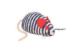 Trixie Germany Sisal Mouse Cat Toy, 4 inch, assorted