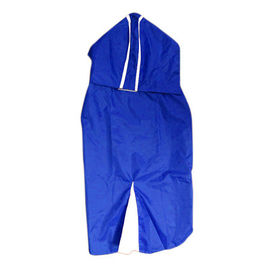 Rays Deluxe Solid Raincoat for Medium to Large Dogs, 24 inch, blue