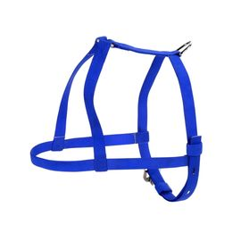 Kennel Nylon Body Harness Belt for Small to Medium Dogs, blue, 3/4