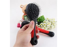 Canine Double Side Shedding Pin Brush, universal, black