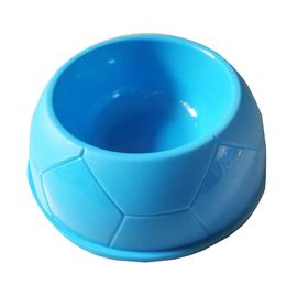 Canine Thick Plastic Medium Pet Feeding Bowl, blue, 7 inch