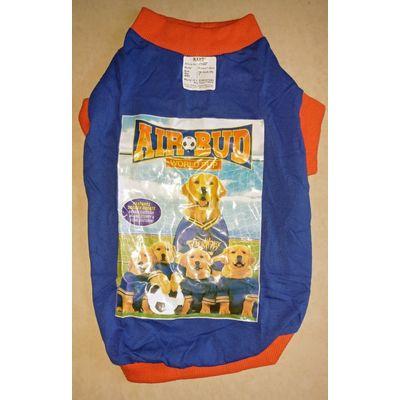Rays Rubber Print Tshirt, 16 inch, blue air bud