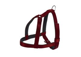 Kennel High Quality Nylon Padded Body Harness for Medium to Large Dogs, 105 cms, maroon