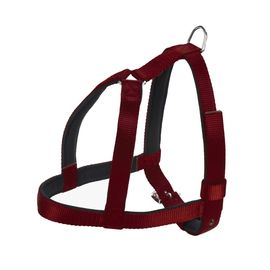Kennel High Quality Nylon Padded Body Harness for Large Dogs, 105 cms, maroon