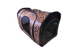 Designer Pet Carry Bag for Puppies & Cats and Small Dogs, yellow cheetah
