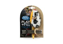 Pet Brands UK Play & Fill Refillable Cat Toy, universal