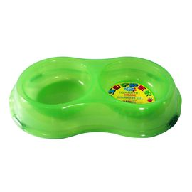 Pet Brands Translucent Supper Bowls, green