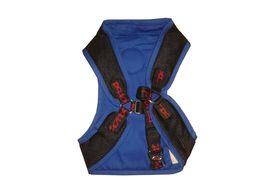 Zorba Designer Body Harness for Giant Breed Dogs, blue, 30 inch