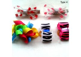 Puppy Love Deluxe Hair Bows for Pets, type 4, assorted