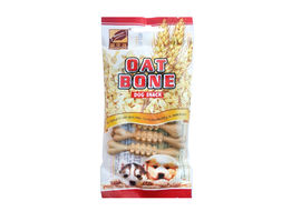 Gnawlers Oat Bone Dog Treat Snack, 55 gms