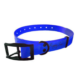 Puppy Love TPU Neon Collar for Small Breed Dogs, blue, small