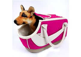 Nunbell Stylish Designer Travel Pet Carry Bag, pink