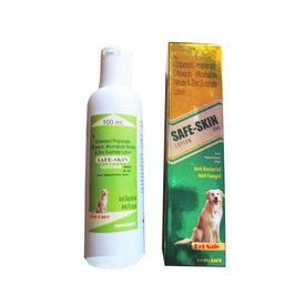 Safe Skin Vet Anti Fungal and Anti Bacterial Lotion, 100 ml