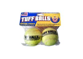 Petsport TUFF Balls Dog Toy, medium, green