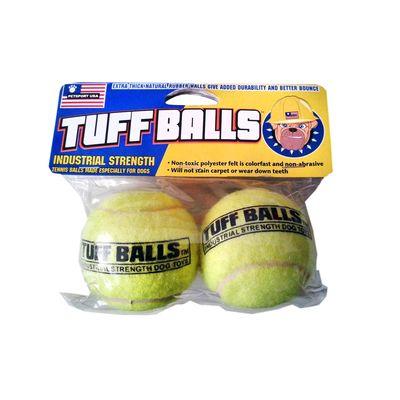 Petsport TUFF Balls Dog Toy, medium, green