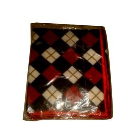 Zorba Designer Premium Small Winter Blanket, cherry red, small