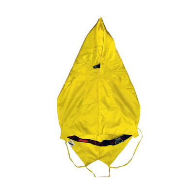 Zorba Designer Dual Protection Safety Raincoats for Small Dogs, yellow, 16 inch