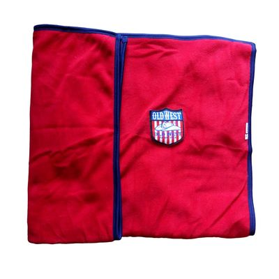 Rays Designer Premium Fleece Warm Blanket for All Dogs Cats, black, 42 x 32 inch