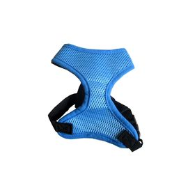 Puppy Love Air Mesh Harness for Toy to Small Breed Dogs, blue, medium
