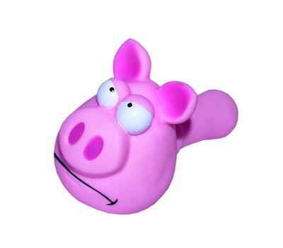 Karlie Vinyl Pig Dog Toy, 8 inch