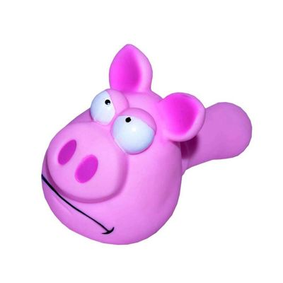 Karlie Vinyl Pig Dog Toy, 8 inch