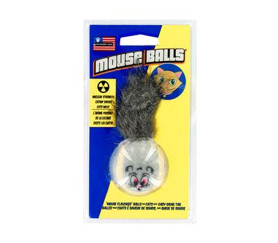 Petsport USA Mouse Balls CatNip Cat Toy, grey