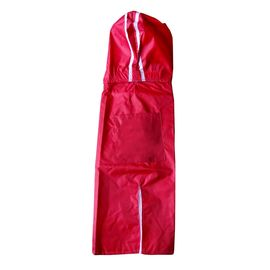 Rays Deluxe Raincoat for Medium Dogs, 22 inch, red