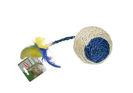 Karlie CatNip Sisal Ball Cat Toy, medium