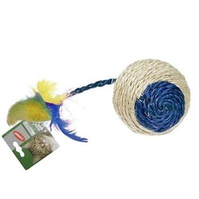 Karlie CatNip Sisal Ball Cat Toy, medium