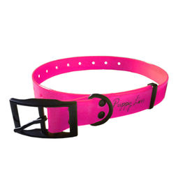 Puppy Love TPU Neon Collar for Small Breed Dogs, green, small
