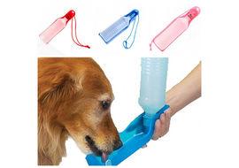 Plastic Pet Feeding Water Bottle, 500 ml , assorted
