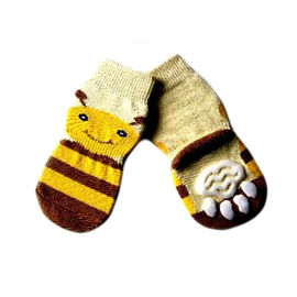 Puppy Love Anti Skid Socks for Medium to Large Breed Dogs, cute face, xl