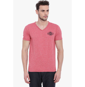 Breakbounce Alfie Men's Casual T-Shirt, regular, xl,  jorah red