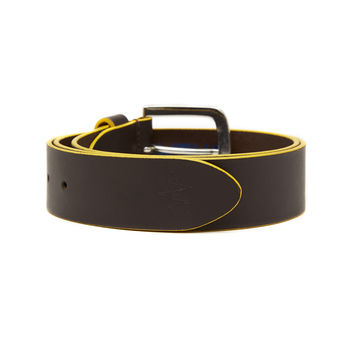 Breakbounce Wetline Men's Casual Belt,  brown, 36/38